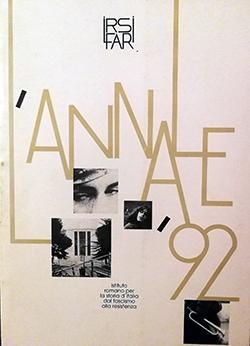 L'Annale IRSIFAR 1992