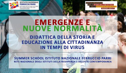"Summer School 2020 | Istituto Nazionale ""Ferruccio Parri"""