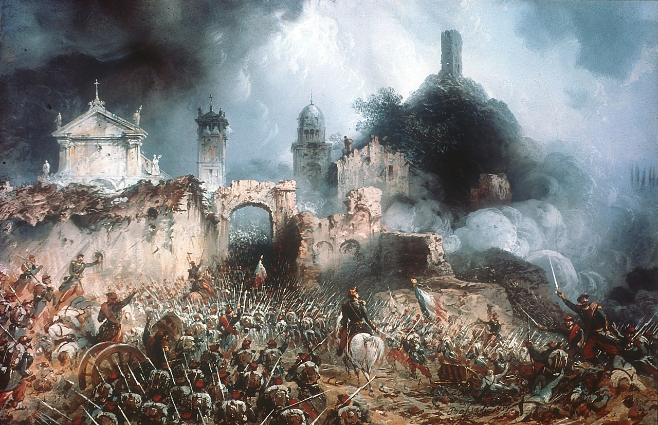 La battaglia di Solferino e San Martino e la nascita della Croce Rossa