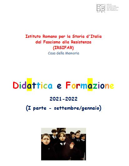 Attività di Formazione Docenti e Didattica 2021-2022 (I parte   settembre-gennaio)